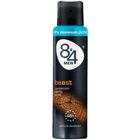 8x4 Deospray 150ml Beast for Men