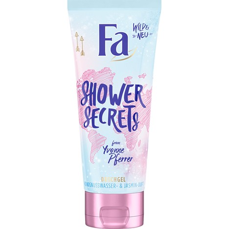 Fa Dusch 200ml Shower Secrets Kokosnusswasser&Jas