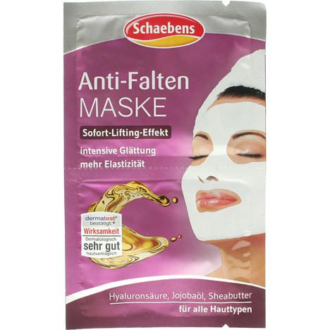 Schaebens Gesichtsmaske Antifalten 2x5ml
