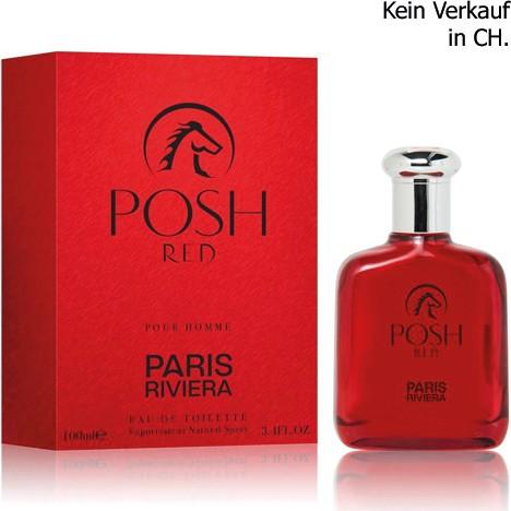 Parfüm Paris Riviera Posh Red 100ml EDT for men