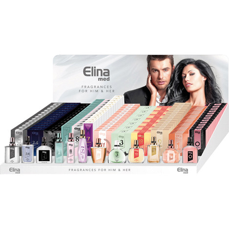 Parfum ELINA 15ml Display-2, 114 St. 12fach sort.