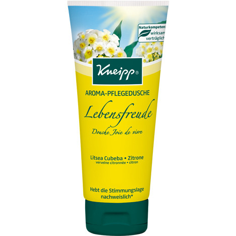 Kneipp Dusch 200ml Lebensfreude Zitrone