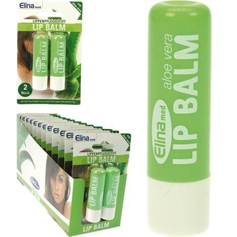 Lippenpflegestift 2er Aloe Vera a 4,3g auf Karte