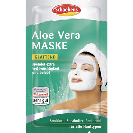 Schaebens Gesichtsmaske Aloe Vera 2x5ml