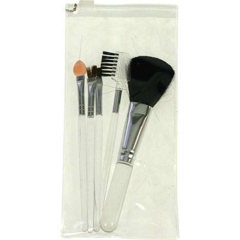 Kosmetikpinsel Set 6tlg. 12-15cm in Beautybag