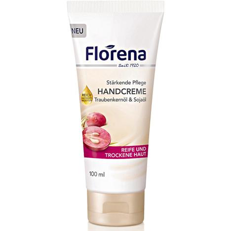 Florena Handcreme 100ml Traubenkernöl Tube