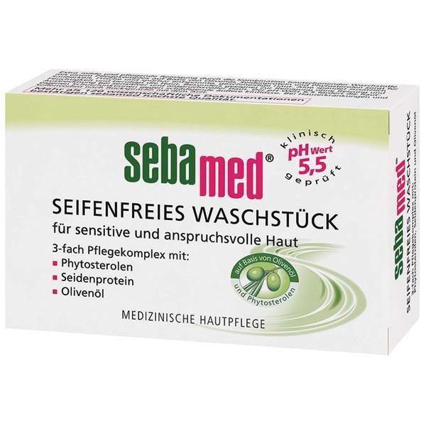 Sebamed Seifenfreies Waschstück 150g Olive