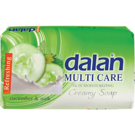 Seife DALAN 75g Multi Care Gurke & Milch