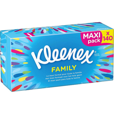 Kleenex Kosmetiktücher 140er Maxi Pack 2lagig