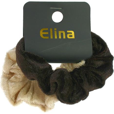 Haarzopfband aus Samt, 2er Set, sort. Fb, 9x3cm