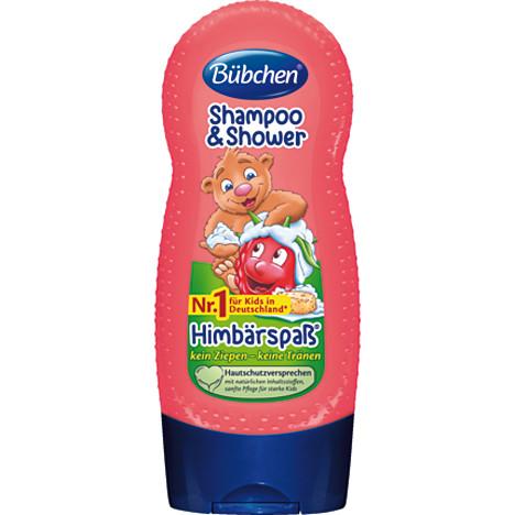 Bübchen Shampoo&Duschgel 230ml Himbärspaß