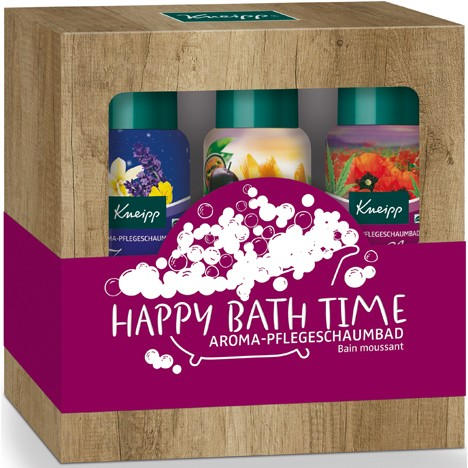 Kneipp GP 'HAPPY BATHTIME' 3x100ml