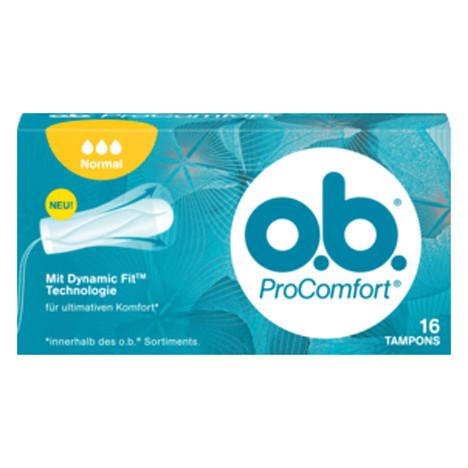 O.B. Tampons Comfort Normal 16er