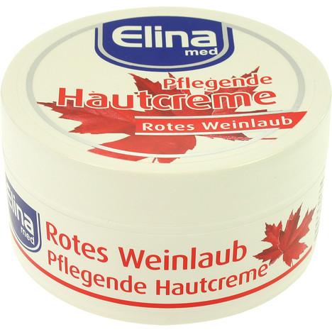 Creme Elina 150ml Rotes Weinlaub Creme in Dose