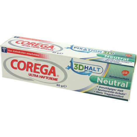 Haftcreme Corega Ultra 40ml ohne Geschmack