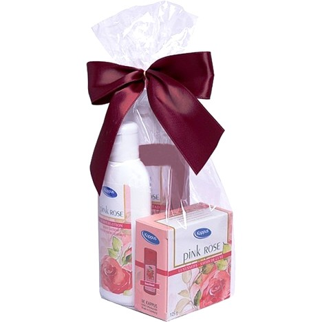 Kappus GP Pink Rose Seife 125g + Dusche 250ml