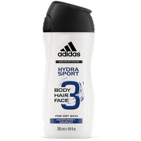 Adidas Dusch 250ml 3in1 Hydra Sport