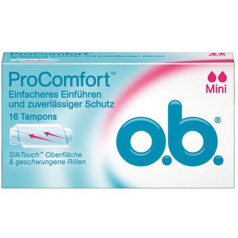 O.B. Tampons Comfort Mini 16er
