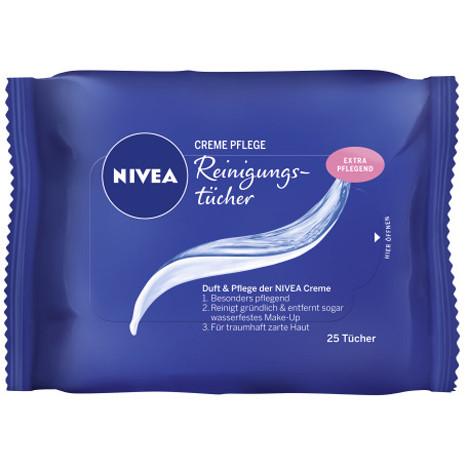 Nivea Visage Gesichts-Rein.Tücher 25er Cream Care