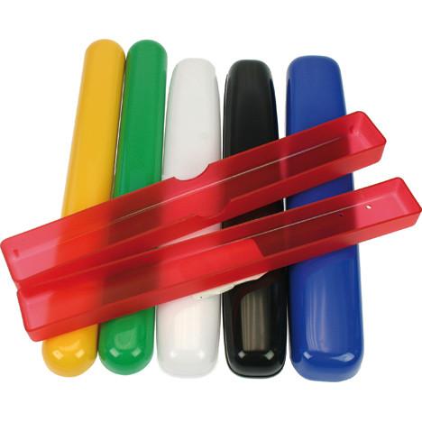 Zahnbürstenköcher unifarben Farben sort. 20cm
