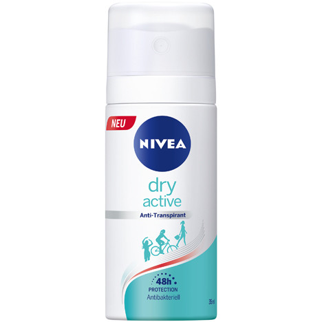 Nivea Deospray 35ml Dry Active for Woman